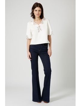 cut-work-embroidered-top by topshop