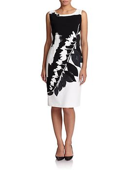 printed-stretch-dress by marina-rinaldi,-sizes-14-24