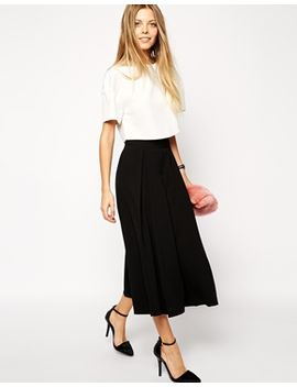 asos-culottes-with-origami-pleating by asos-collection