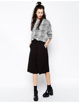 monki-saber-culotte-trouser by monki