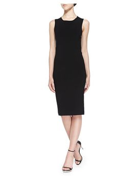 isa-matte-crepe-dress,-black by joseph