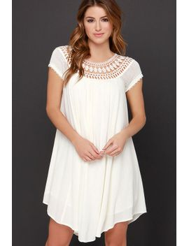 all-baby-dolled-up-cream-lace-dress by lulus