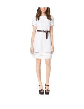 linen-shift-dress by michael-kors