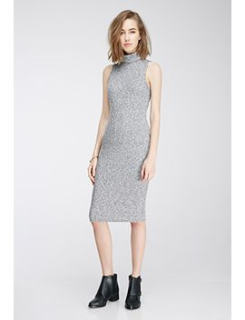 marled-midi-turtleneck-dress by forever-21