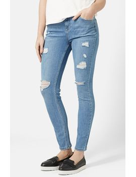 moto-high-rise-ripped-jeans by topshop