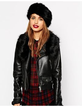 new-look-faux-fur-collar-and-headband-set by new-look