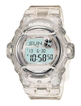 womens-baby-g-pink-clear-silver-watch by casio