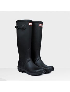 womens-original-ribbed-leg-rain-boots by hunter