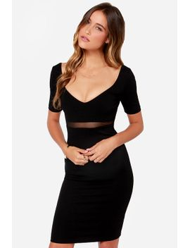 dont-mesh-around-black-midi-dress by lulus