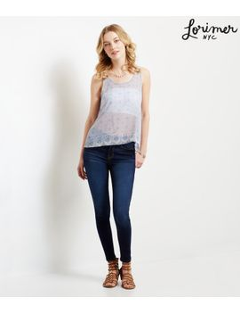 lorimer-sheer-mosaic-lace-back-tank by aeropostale