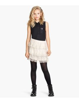 tiered-skirt by h&m