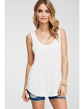 contemporary-raw-cut-boxy-tank by forever-21