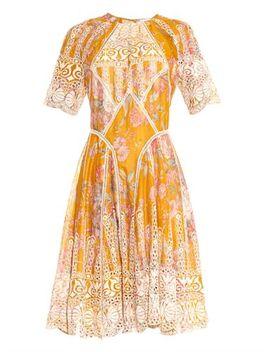 confetti-scallop-floral-print-cotton-dress-(1003854) by zimmermann