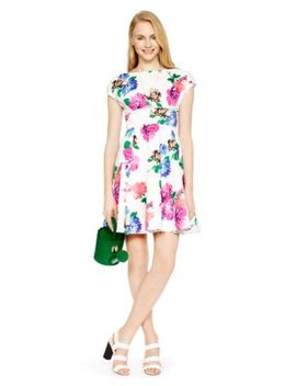 blooms-fit-and-flare-dress by kate-spade
