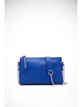 chained-faux-leather-crossbody by forever-21