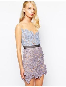 self-portrait-harmony-lace-cutwork-dress-with-mesh-sleeves by self-portrait