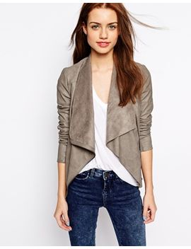 new-look-suedette-waterfall-blazer by new-look