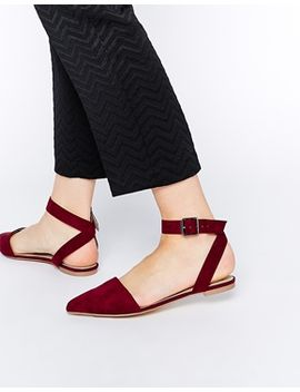asos-lake-two-part-ballerinas by asos-collection