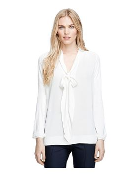 bow-front-blouse by brooks-brothers
