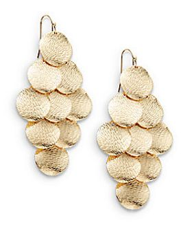 textured-coin-kite-earrings by jules-smith