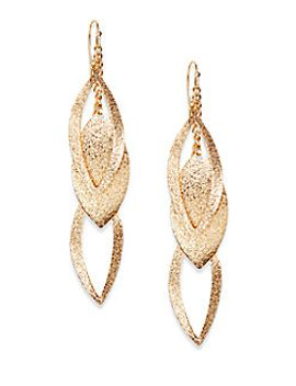 triple-leaf-drop-earrings by punch