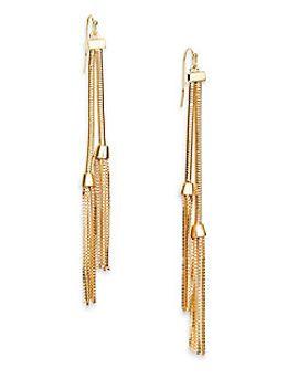 tassel-drop-earrings by saks-fifth-avenue