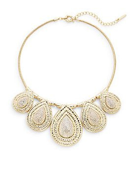 pavé-accent-teardrop-bib-necklace by saks-fifth-avenue