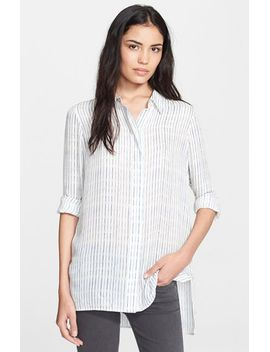 stripe-classic-shirt by vince