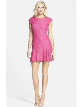 brittany-lace-drop-waist-dress by diane-von-furstenberg
