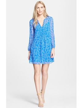 aria-print-silk-dress by diane-von-furstenberg