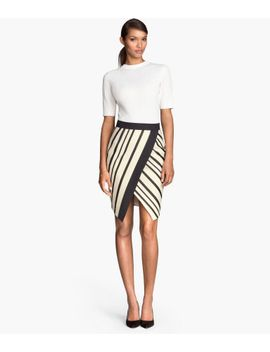 wrap-skirt by h&m