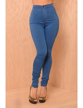 super-high-waisted-skinny-jeans---medium-blue by fashion-nova