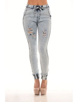 distressed-jogger---light-blue by fashion-nova