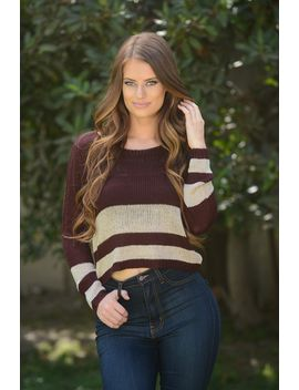 dusk-sweater---burgundy by fashion-nova