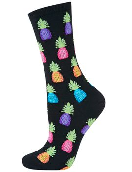 hot-sox-pineapples-socks by topshop