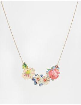 tatty-devine-decoupage-flower-necklace by tatty-devine