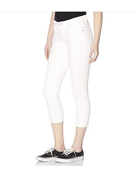 cotton-white-high-waist-jegging by garage