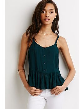 buttoned-babydoll-cami by forever-21