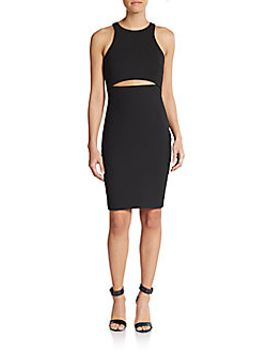 lee-cutout-waist-body-con-dress by elizabeth-and-james
