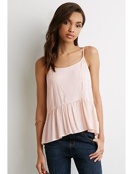 eyelash-lace-trimmed-cami by forever-21