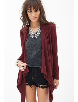 draped-knit-cardigan by forever-21