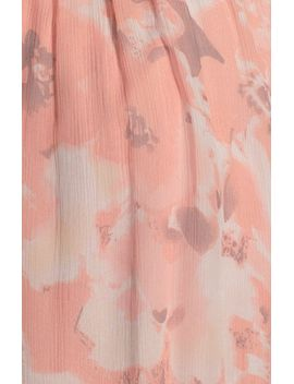 amore-print-silk-chiffon-gown by amsale