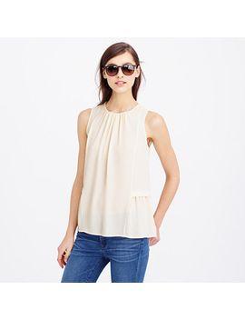 sleeveless-flounced-top by jcrew