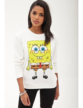 spongebob-squarepants-sweatshirt by forever-21