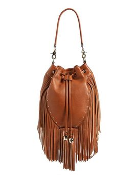 amber-fringe-leather-backpack by dolce-vita
