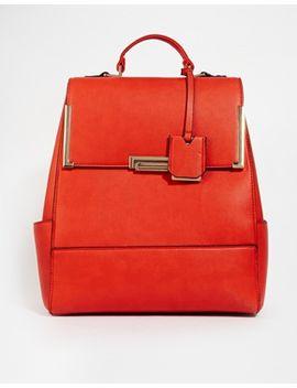 new-look-flip-lock-backpack by new-look