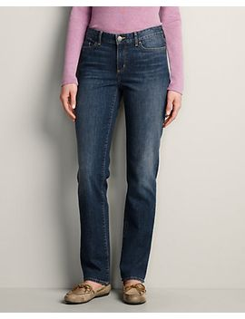 slightly-curvy-straight-leg-jeans by eddie-bauer