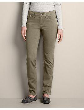 womens-elysian-twill-slim-straight-pants---slightly-curvy by eddie-bauer