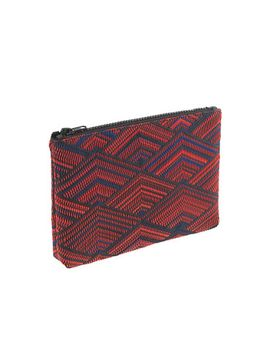 diamond-woven-pouch by jcrew
