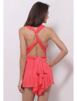 strappy-open-back-romper by lookbook-store